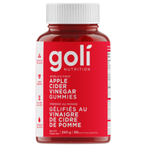 Goli Apple Cider Vinegar Gummies (60)