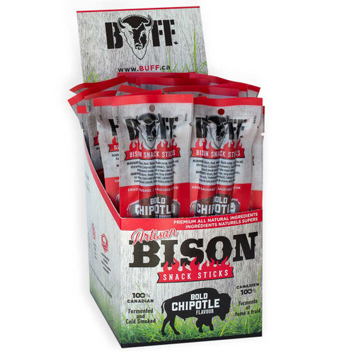 BUFF Bison Snack, Chipotle (2-pk)