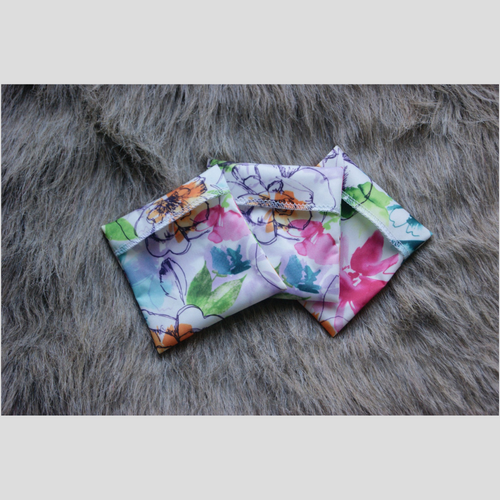 Reusable Pad Wrapper - Floral