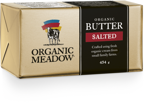 Organic Meadow Butter Salted 454g