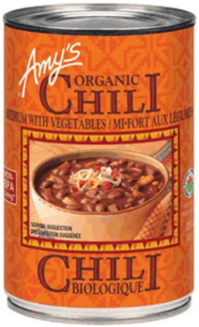 Amy's Kitchen Medium Vegetarian Chilli 398ml