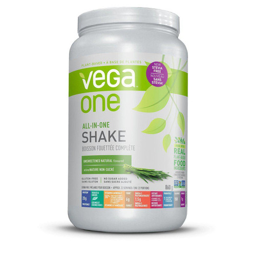 Vega One - UNSWEETENED Natural Flavour - 860g