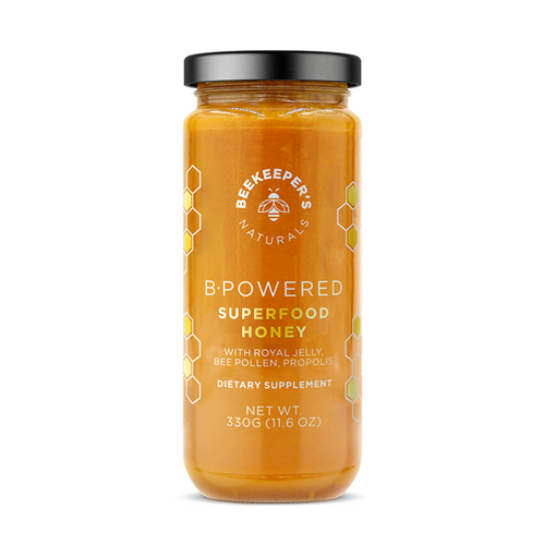 BeeKeeper's Naturals - B.Powered Superfood Honey - 330g