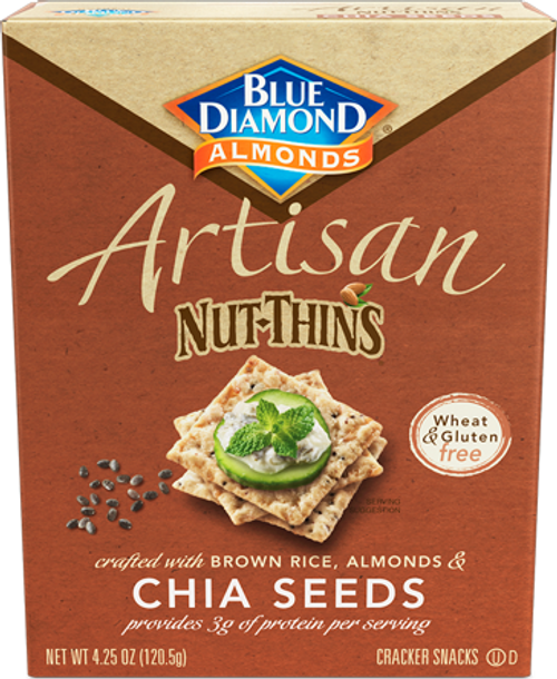 Blue Diamond Nut Thin Chia