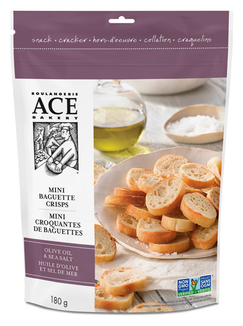 Ace Bakery Mini Crisps - Olive Oil