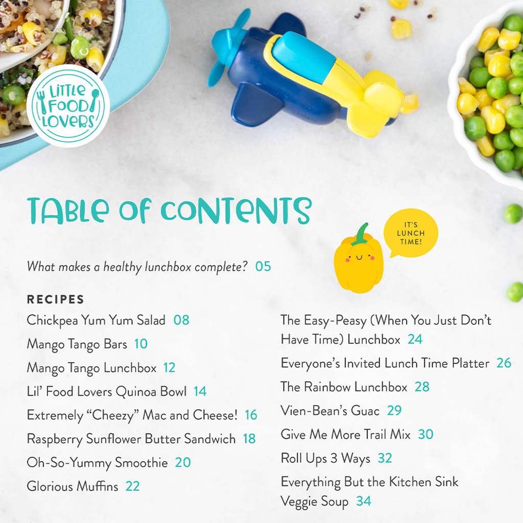 Little Food Lovers: Healthy Lunches