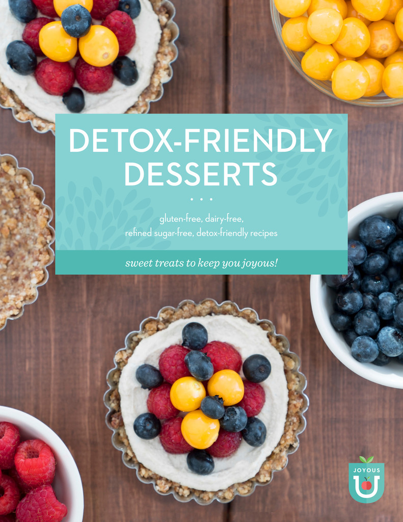 Detox-Friendly Desserts