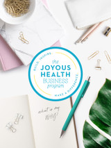 Joyous Health Business Program