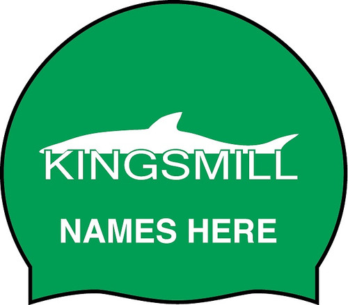Kingsmill Personalized Silicone Caps (min 2 per name)