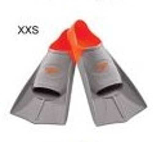 SHORT BLADE TRAINING FIN -XXS (3-4)