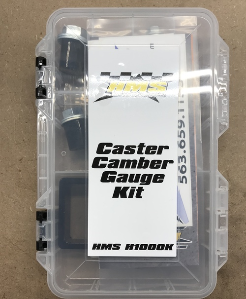 Complete Caster Gauge Kit with Carrying Case
