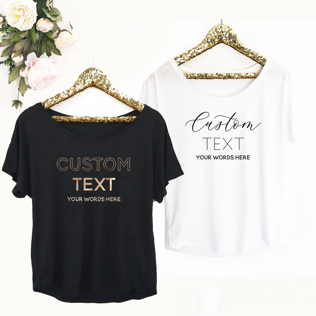 Custom Personalized Shirt - Loose Fit