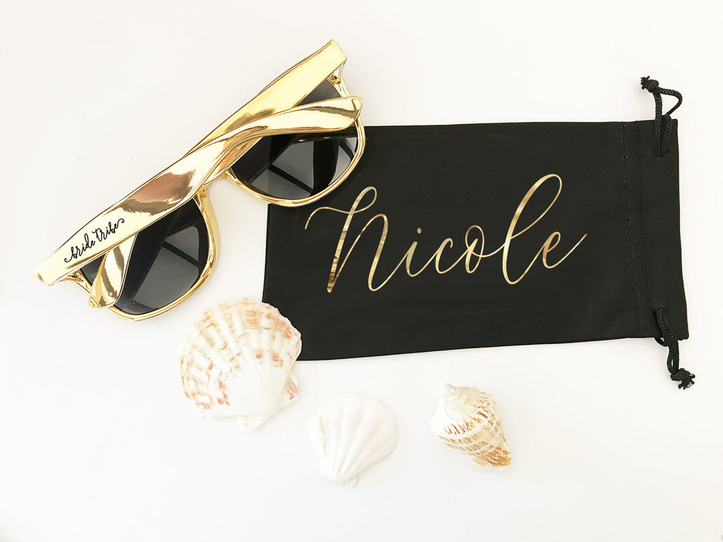 Personalized Sunglasses Pouch