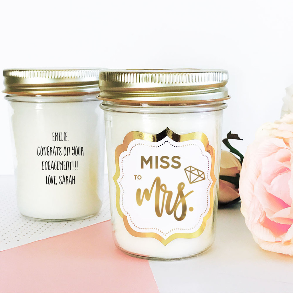 Bridesmaid Candles