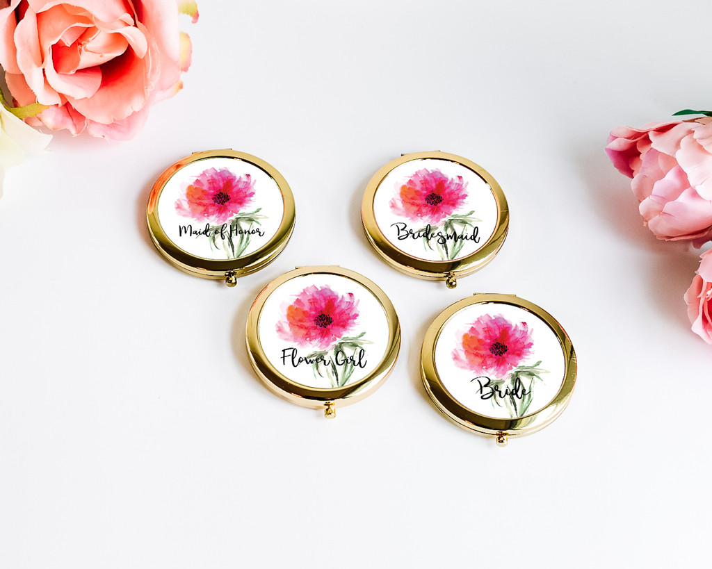Gifts for Bachelorette Party - Pocket Mirror Gifts for Women (1ct)