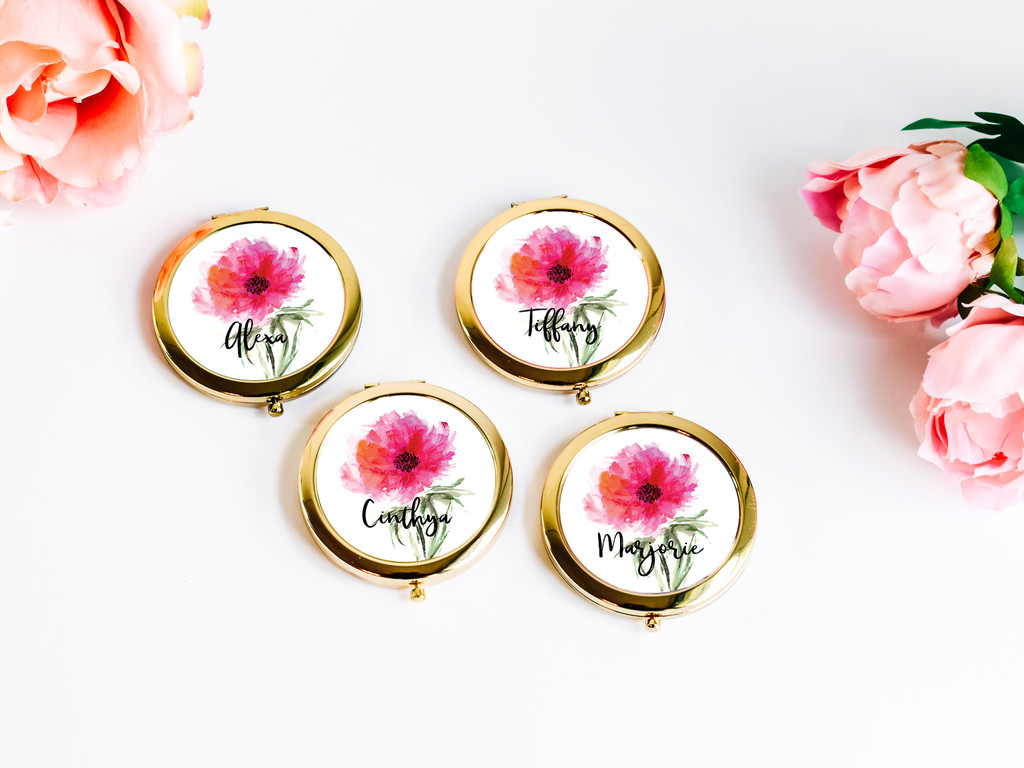 Hi Beautiful Compact Mirror - Hello Gorgeous Compact Gift (1ct)