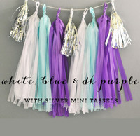 Frozen Inspired Tassel Garland