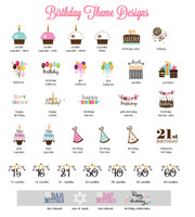 Birthday Personalized Water Bottle Labels - 30th Birthday Label - 40th Birthday Water Label 25ct