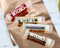 Cheers Bitches Metallic Chapsticks - Cheers Party Supplies 15ct