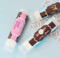 Personalized Chapsticks - Lip Balm Party Favor - Baby Shower Favors 24ct