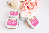Baby Shower Candle Favors - Favors Giveaway Ideas (Set of 12)