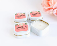 Quinceanera Candle Favors - Personalized Candles - Sweet Sixteen Favors (set of 12)