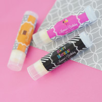 Personalized Lip Balm Favors - Birthday Party Favors 24ct