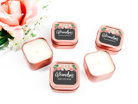 Sweet Sixteen Candle Favors - Personalized Candles (set of 12)