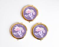 Personalized Rose Gold Compact - Pocket Mirror Gifts for Women (1ct)