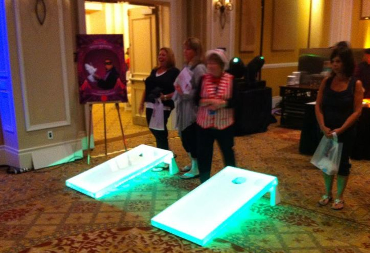 LED Corn Hole Boards