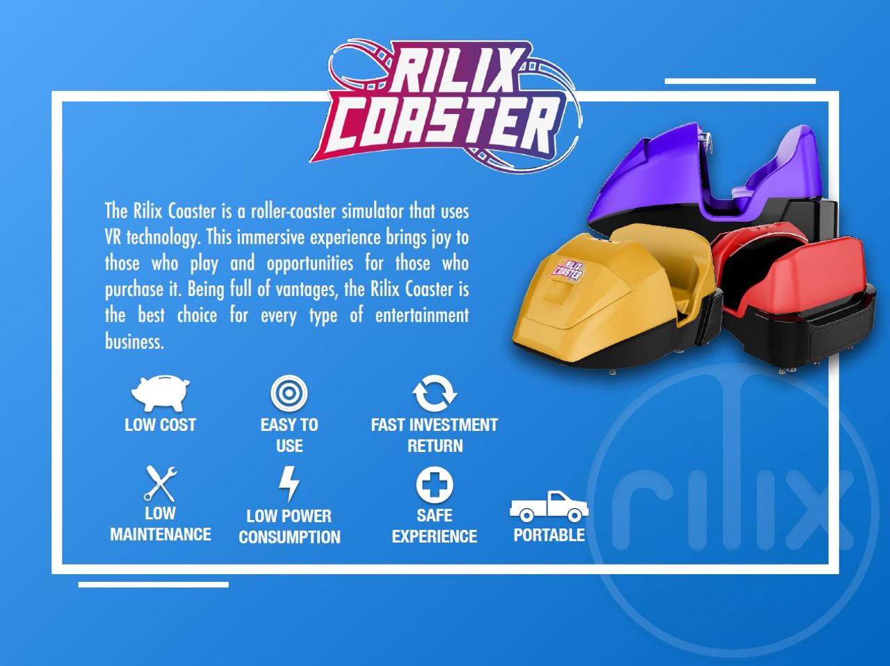 Rilix VR Roller Coaster