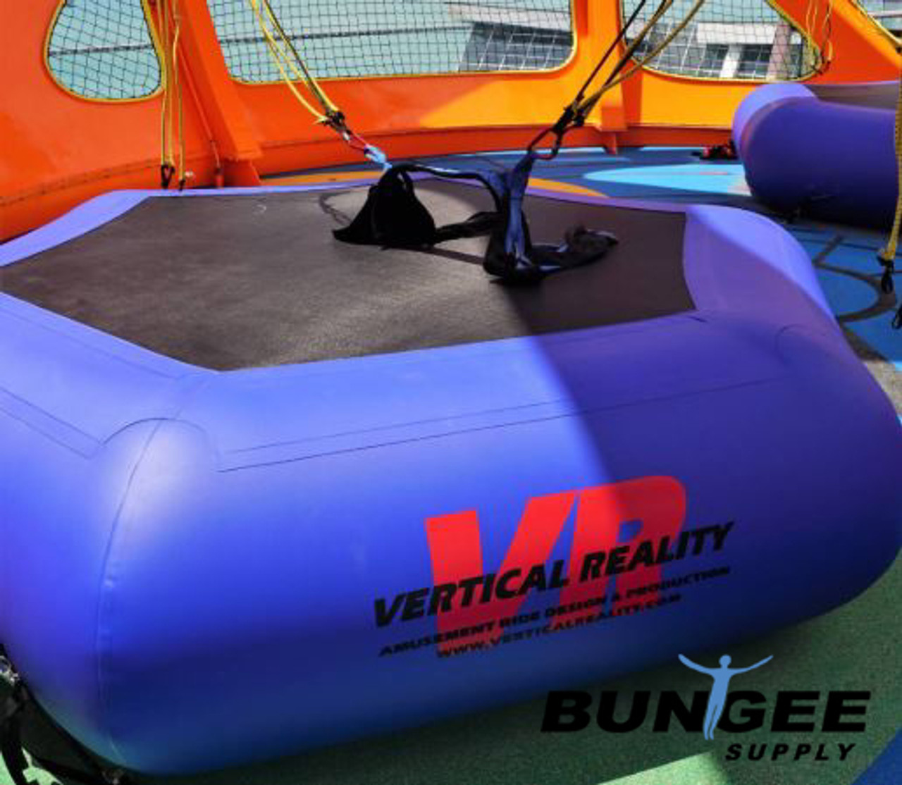 12 ft Vertical Reality Air Trampoline Bongo