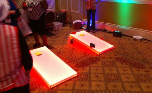 LED Corn Hole Boards