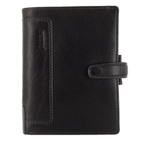 Holborn's beautiful soft buffalo leather exterior and interior, matched with a simple, elegant design make for the perfect organiser. Fluid geometric shapes, rounded edges and colour hues with contrast stitching complement the understated and neutral palette. Left Hand Details: four card pockets, two vertical slip pockets Right Hand Details: two vertical slip pockets, one zipped pocket, one leather/elastic pen loop Diary Type: week on two pages diary 2019   Contents- week on two pages diary 2019 ruler/page marker to do contacts indices white notepaper coloured notepaper top opening envelope please note contents may vary to those listed or shown in product images Material Exterior: full grain natural finish buffalo leather Material Interior: full grain natural finish buffalo leather   Dimensions-  Height: 14.2cm Width: 10.9cm Depth: 2.7cm Closure Detail: leather strap with concealed popper Ring Mech: 1.5cm      |   Organiser  World