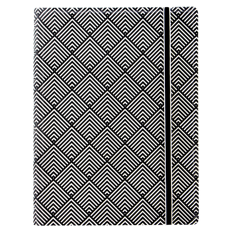 Impressions Notebook Black & White Deco (A5)
