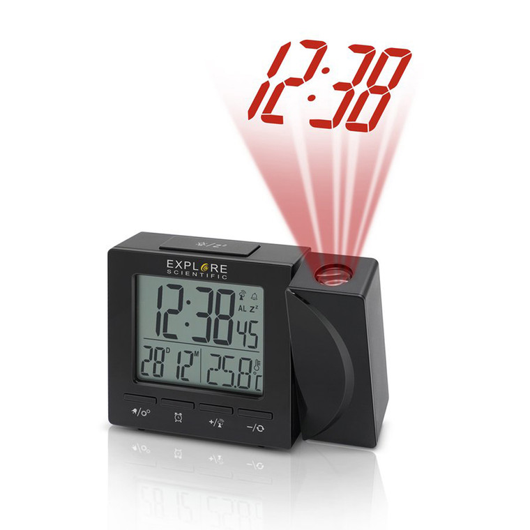 RDP1001 Projection Clock - Black