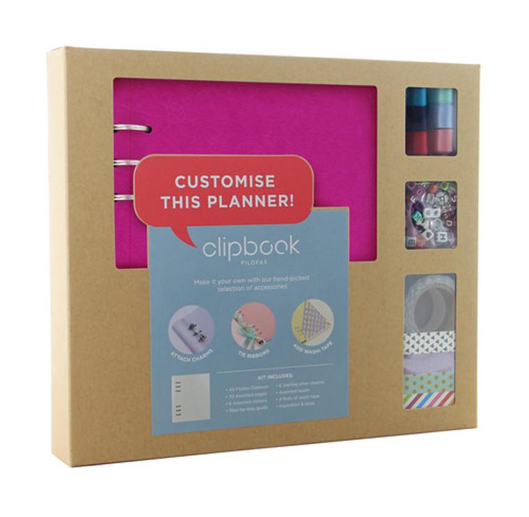 Fuchsia Clipbook Creative Kit (A5)