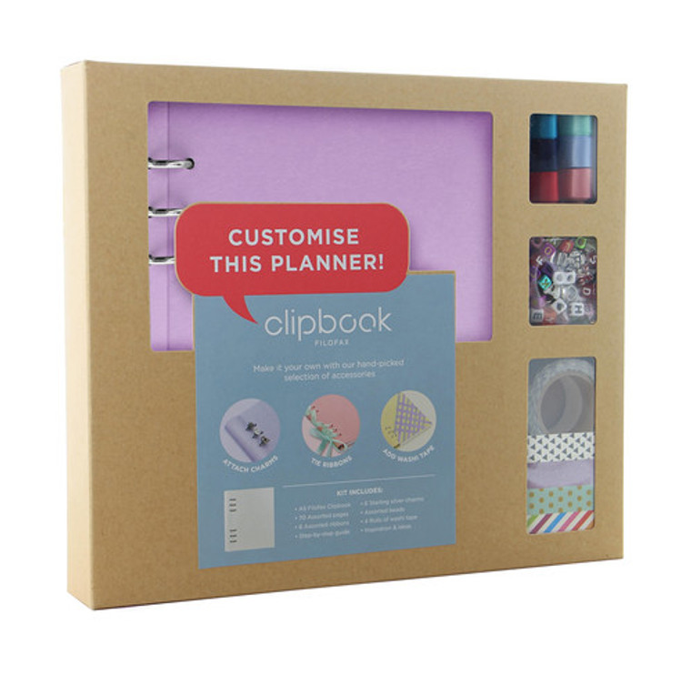 Orchid Clipbook Creative Kit (A5)