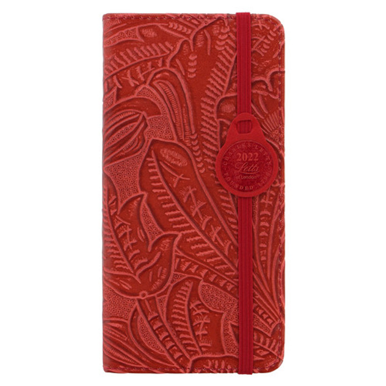 2022 Baroque Week to View Diary Red [Slim]