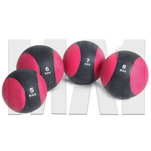 Deluxe Rubber Medicine Ball Sets - 5kg, 6kg, 7kg & 8kg