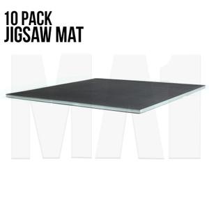 Premium Jigsaw Mat - Black and Grey, 1M x 1M x 40mm
