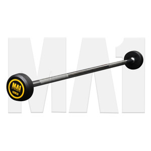MA1 Fixed Rubber Barbell 10kg