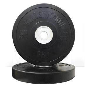 MA1 Pro Bumper Plate Black 20kg (Pairs)