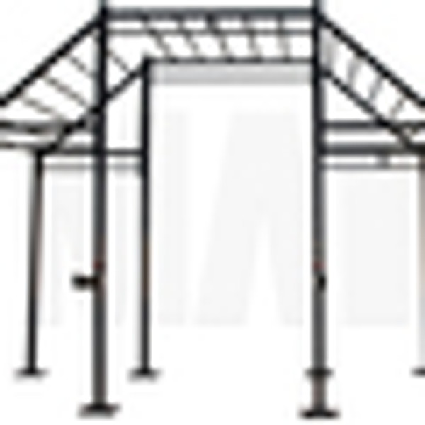3 Cell Cross Rig with Flying Pull Up Bars