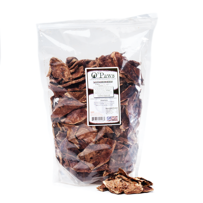 O'Paws Lamb Lung Chips 16 oz