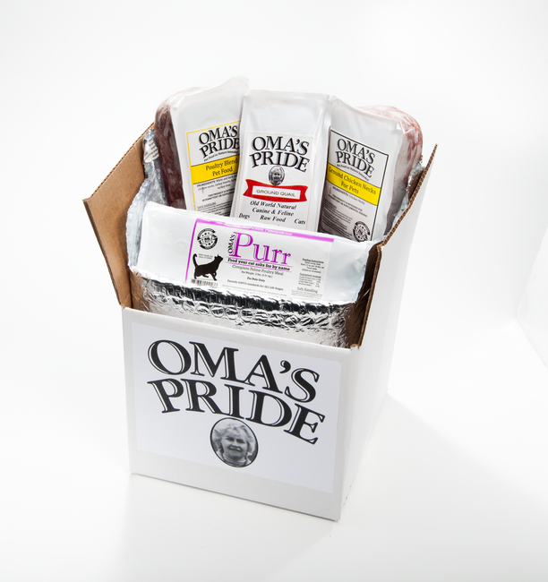 Oma's Pride RAW Feline Sampler Pack