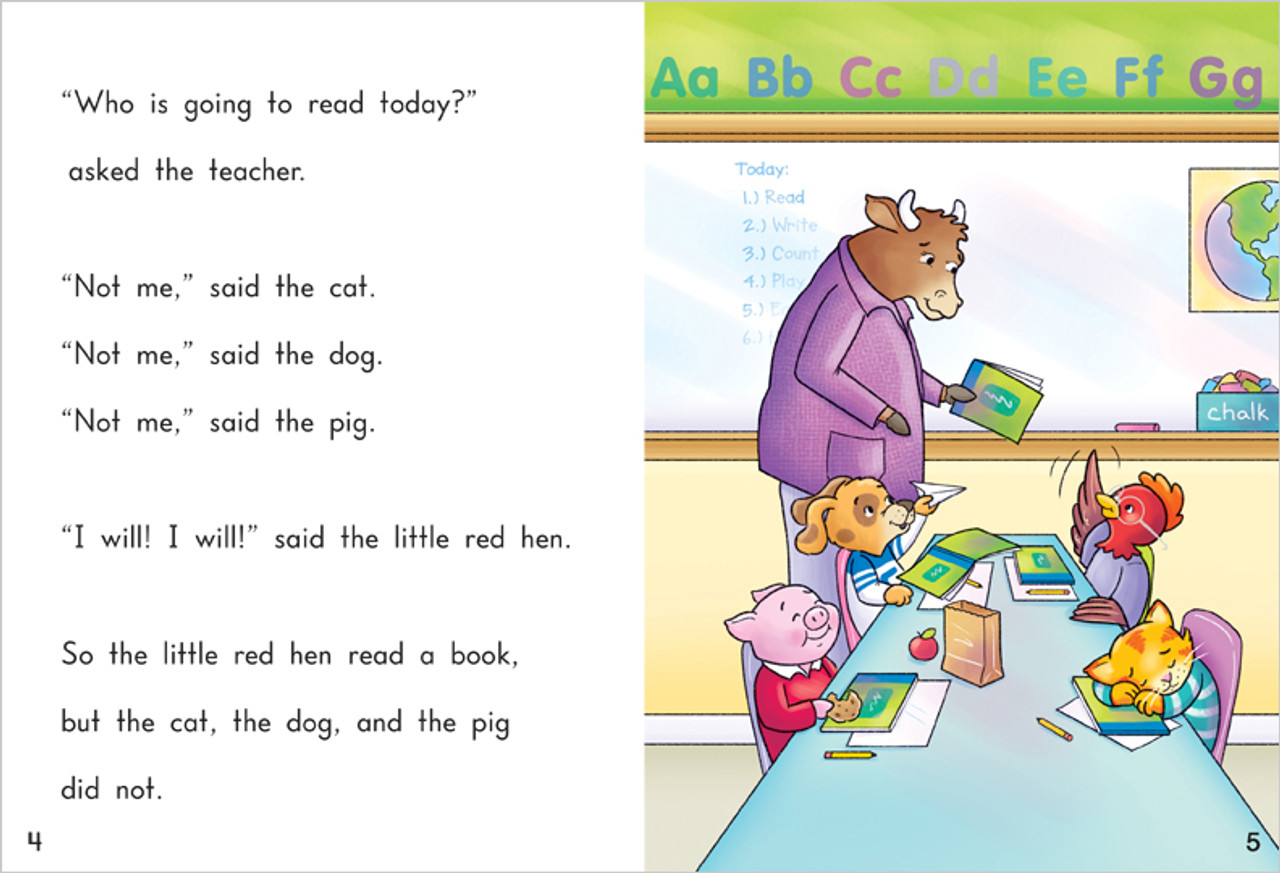 The Little Red Hen Goes to School - Level G/11