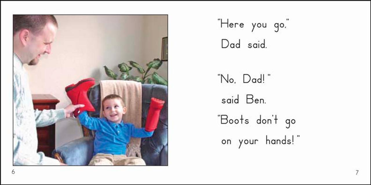 Ben's Boots - Level E/6
