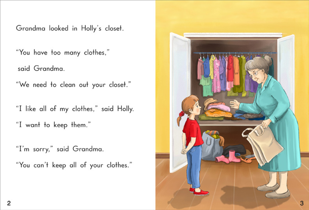 Holly's Old Clothes - Level H/14