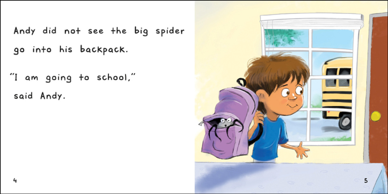 The Big Spider Goes To School - Level E/7